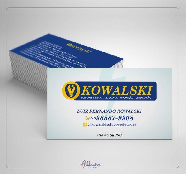 Cartão de Visita KW